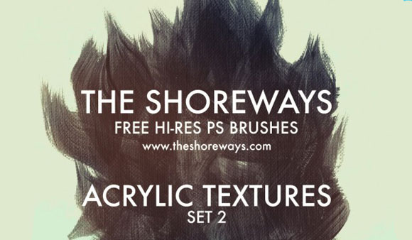 Hi Res Acrylic Brushes
