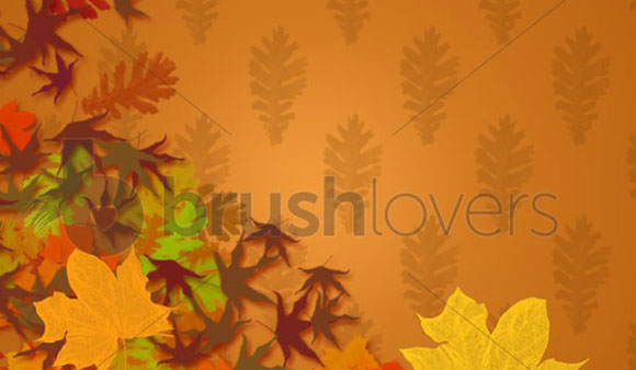 Fall Leaves Brushes