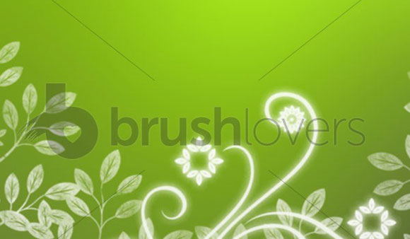 Pretty Garden Brushes