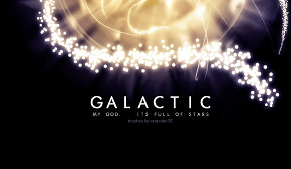 Galactic Brushes