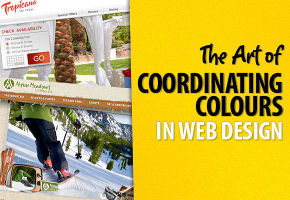 The Art of Coordinating Colours in Web Design