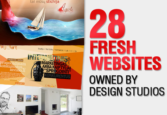 28 Fresh Websites Owned by Design Studios