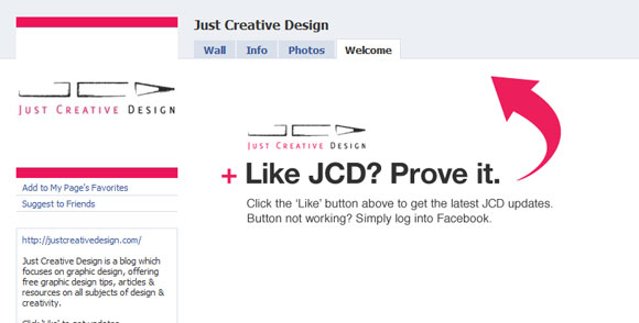 Just Creative Design Page