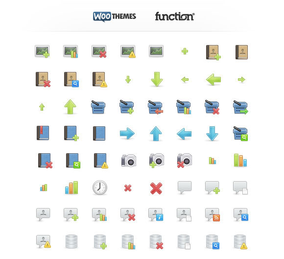 WooFunction: 178 Amazing Web Design Icons