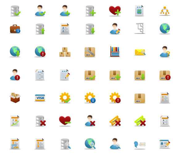 Pretty Office Icons Part 3