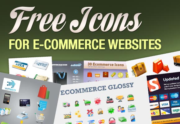 Free Icons For E-Commerce Websites