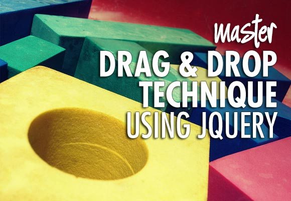 Master Drag and Drop Technique using jQuery