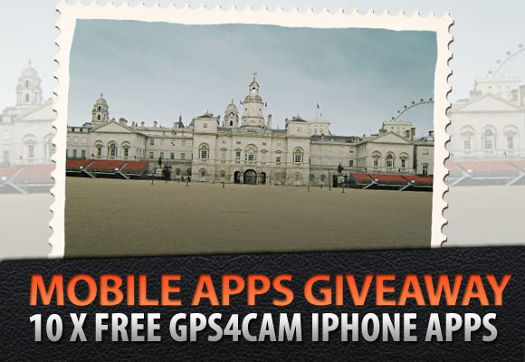Mobile Apps Giveaway: 10 x Free gps4cam iPhone Apps