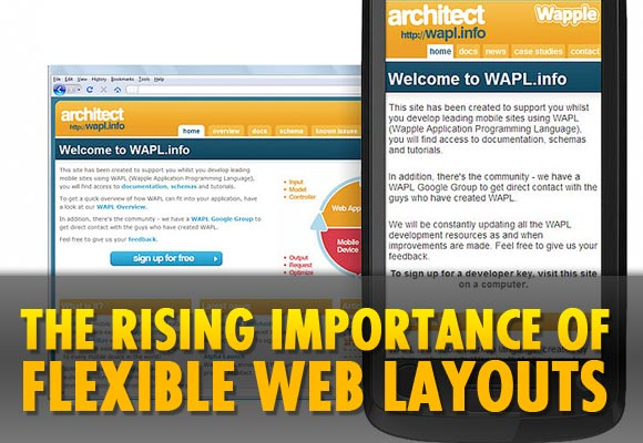 The Rising Importance of Flexible Web Layouts