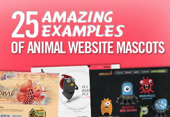 25 Amazing Examples of Animal Website Mascots
