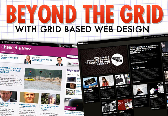 Beyond the Grid: With Grid Based Web Design