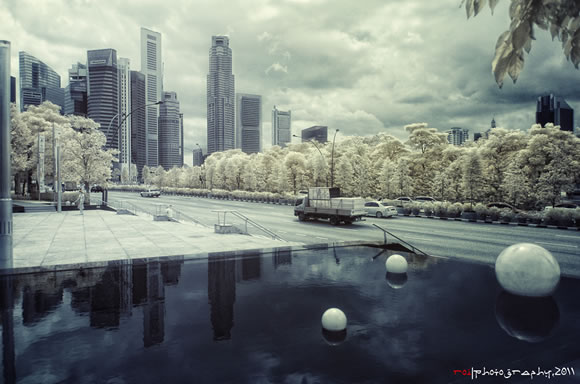 Infra Red - Singapore City
