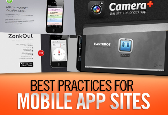 Best Practices for Mobile App Sites