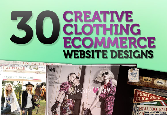 30 Creative Clothing Ecommerce Website Designs