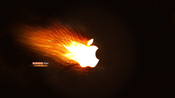 Burning Mac