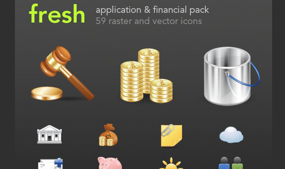 Finance and Applications Icon Pack