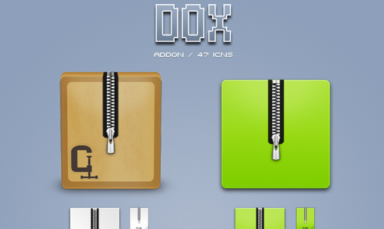 DOX Archiver Icons Pack