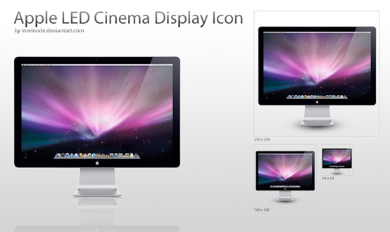 Apple Led Display Icons Pack