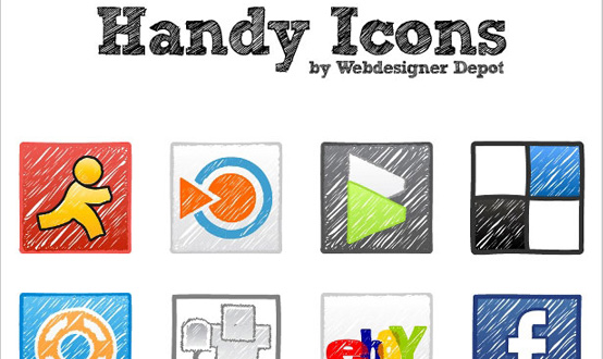 Vector Handy Icons Pack
