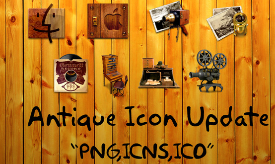 Antique Icons Updated