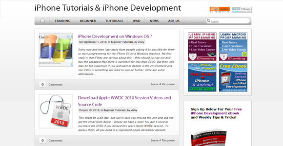 iPhone iPad Tutorials