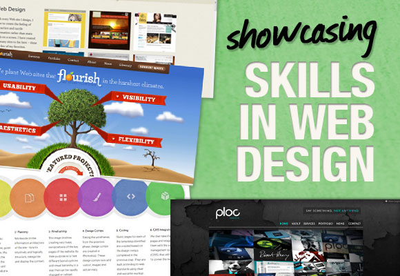 Showcasing Skills in Web Design