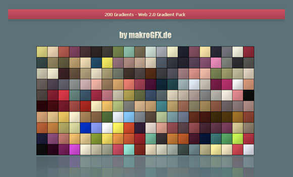Web 2Gradient Pack
