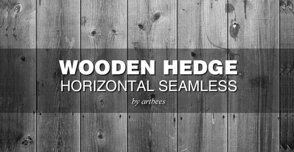 Wooden Hedge Seamless