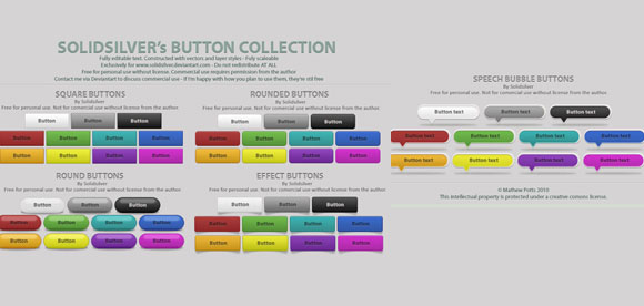 Free Button Collection