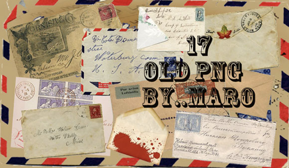 PNG Old Envelope