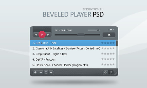 20 Beveled PlayerPSDv1