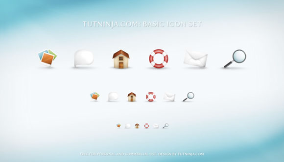 TutNinjacom Basic Icon Set
