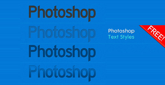 FreePhotoshop TextStyles