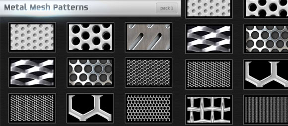 Metal Mesh Patterns Pack1