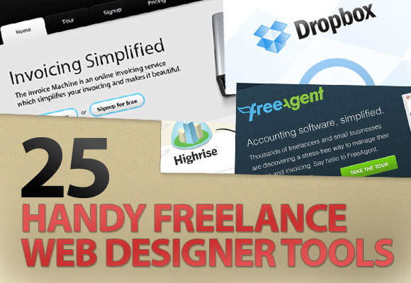 25 Handy Freelance Web Designer Tools