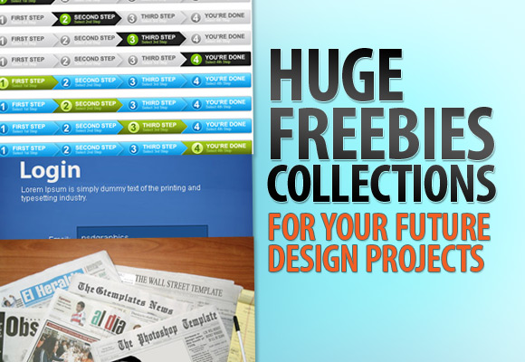 Huge Freebies Collections For Your Future Design Projects