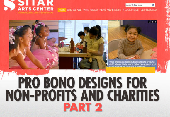 Pro Bono Designs for Non-Profits and Charities, Part 2