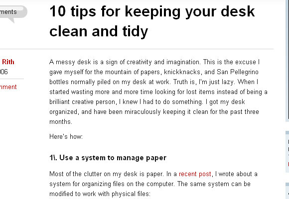 10 Tips for Keeping Your Desk Clean and Tidy