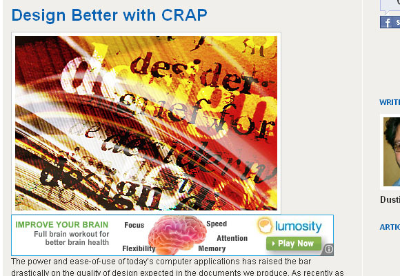 Design Better With Crap