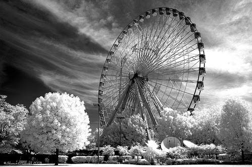 Ferris Wheel in IR