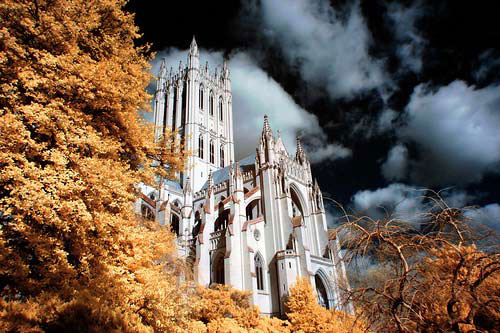 National Cathedral Infrared