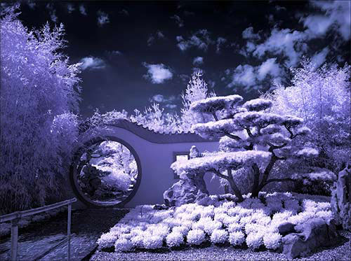 Moon Gate infrared...