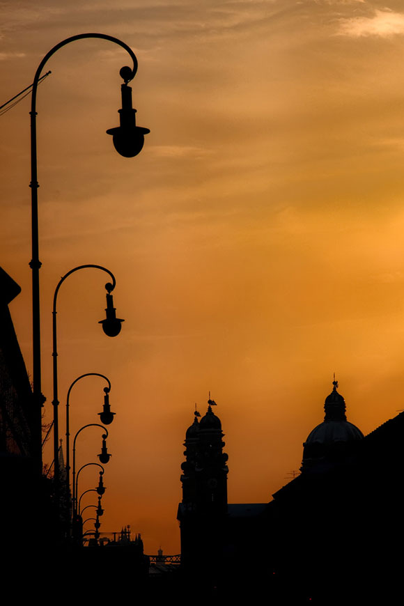Munich in Silhouette