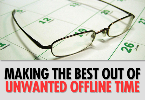 Making the Best Out of Unwanted Offline Time