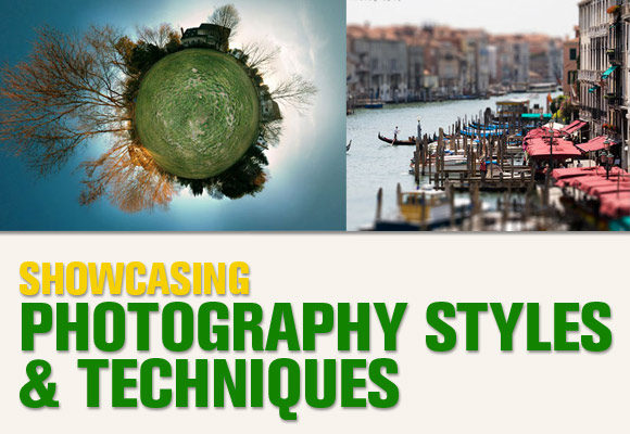Showcasing Photography Styles and Techniques