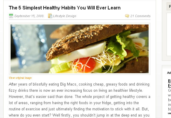 he 5 Simplest Healthy Habits You Will Ever Learn