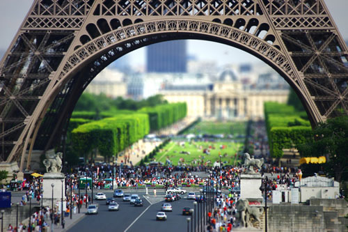 Eiffel Tilt-Shift II