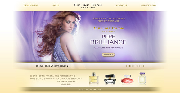 Celine Dion Fragrances