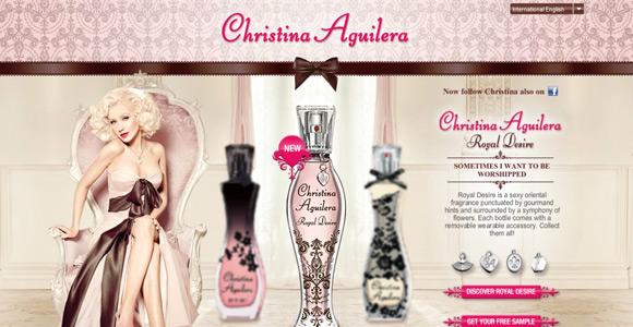 Christina Aguilera Fragrance