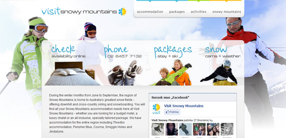 Visit Snowy Mountains